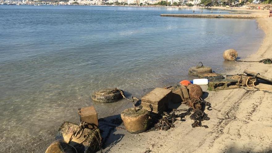 Pollença reabre la playa de Albercutx tras solucionar filtraciones de la red de fecales