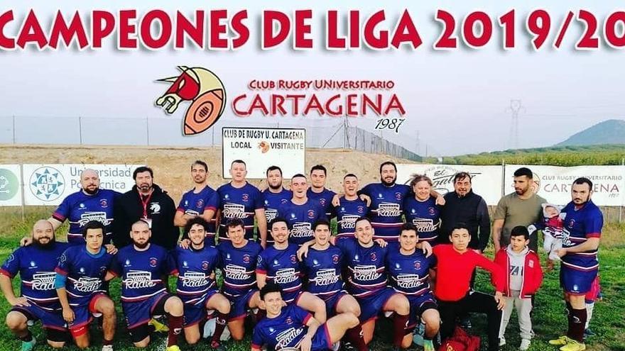 Proclaman campeón de la Liga Regional sénior al CRU de Cartagena