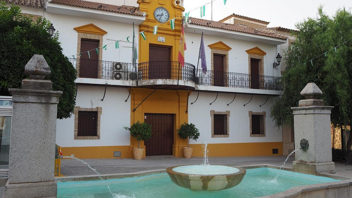 Imagen del Ayuntamiento de Santaella.