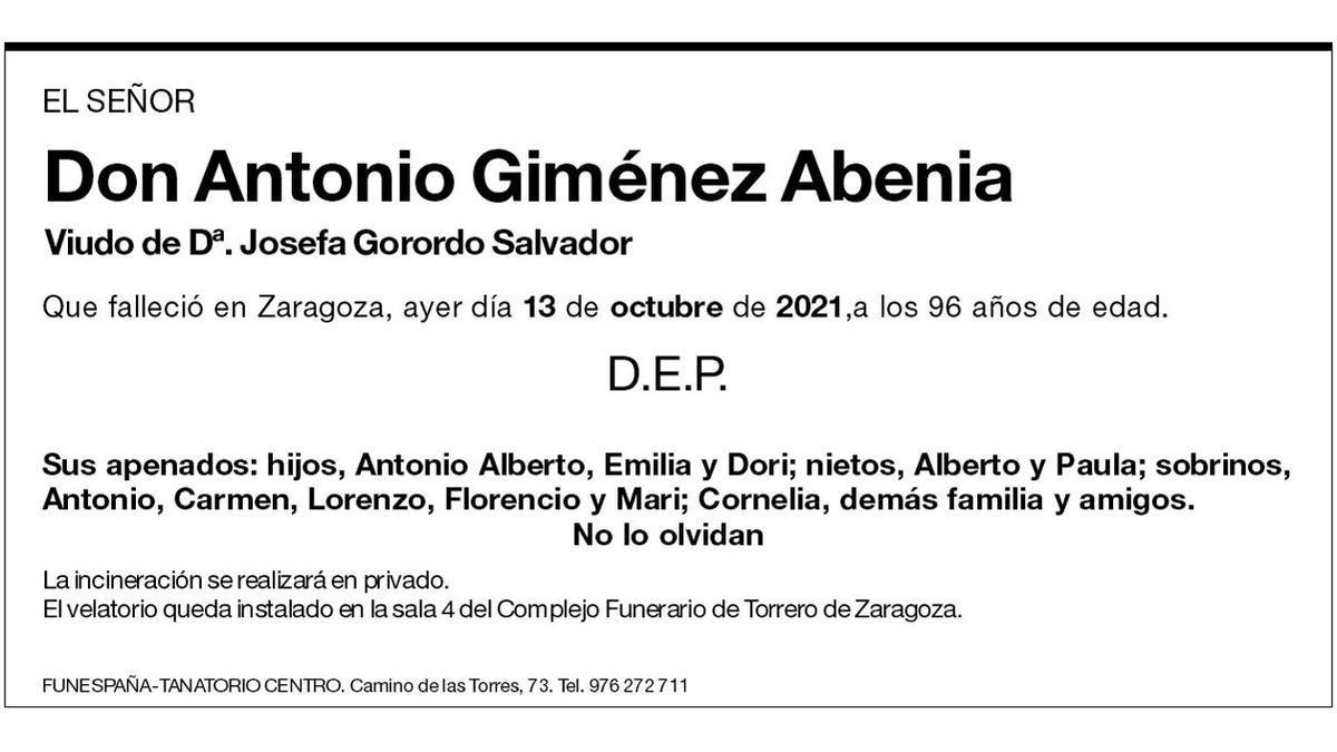 Antonio Giménez Abenia