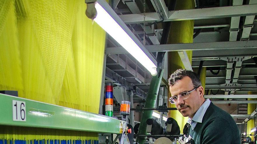 Jorge Sanjuan, gerente de Comersan: «El Reino Unido tendrá que continuar comprando textiles a Europa»