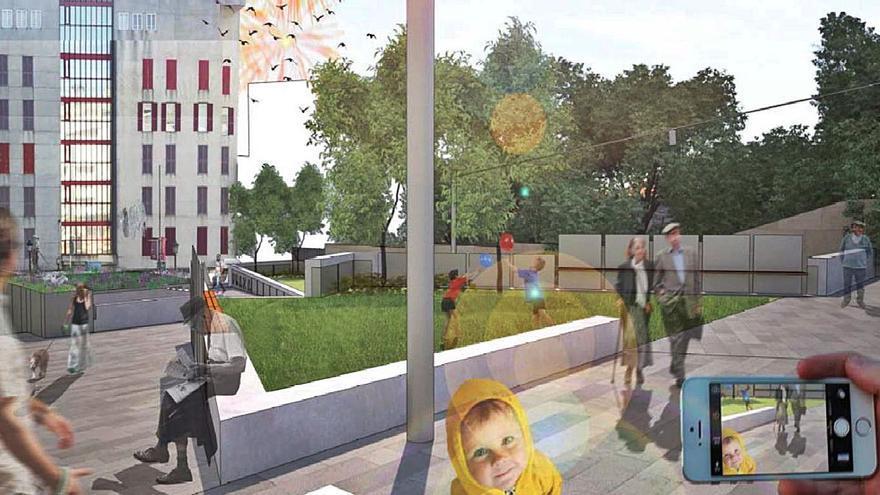 Sanxenxo pretende comenzar este año la reforma de la Plaza del Pazo