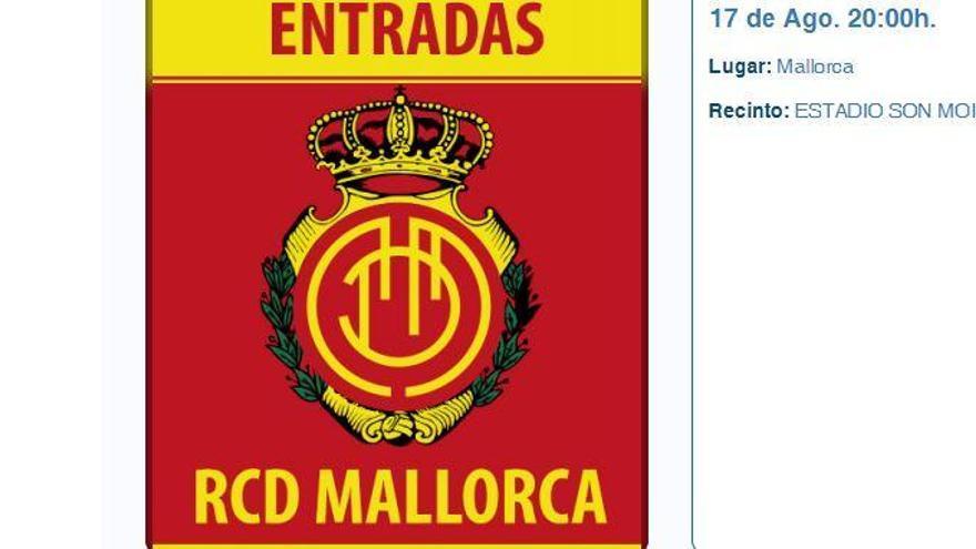 Hier gibt es Tickets für den Saisonauftakt von Real Mallorca