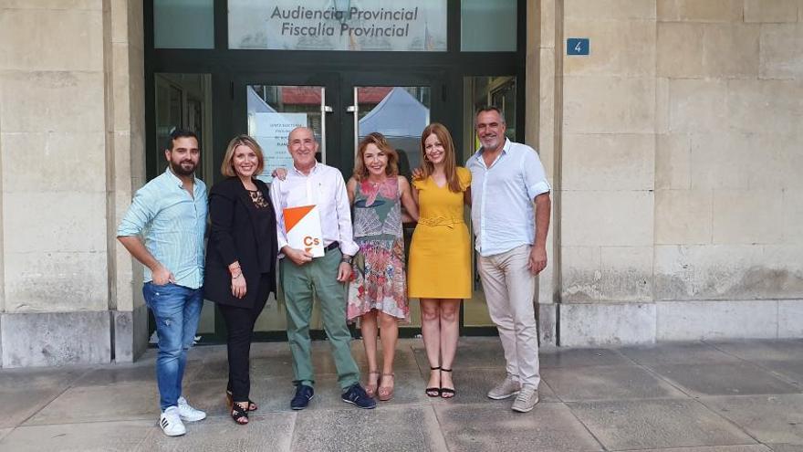 Ciudadanos presenta sus candidaturas al Congreso y al Senado por Alicante