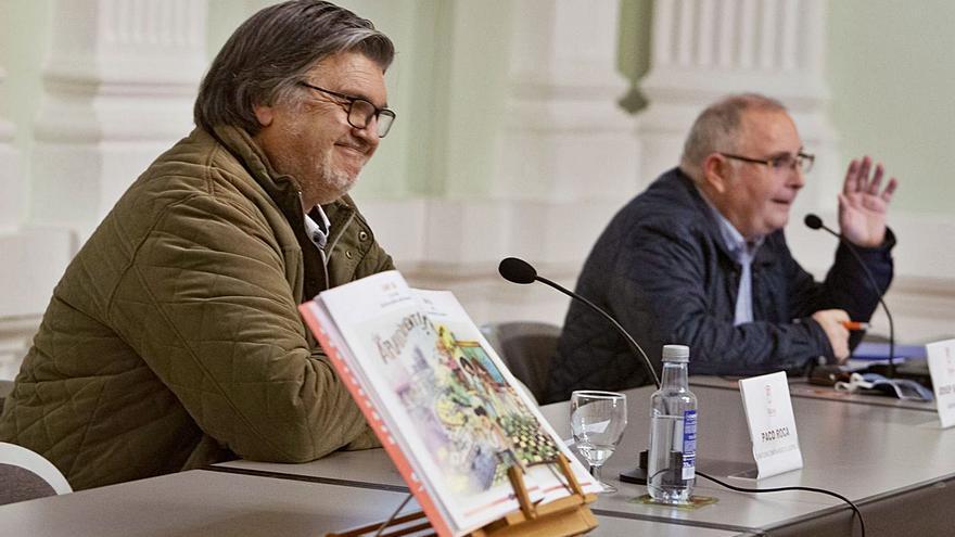 Presentación del libro de Paco Roca en Xàtiva