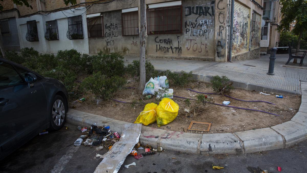 Imagen reciente en la Zona Norte de Alicante