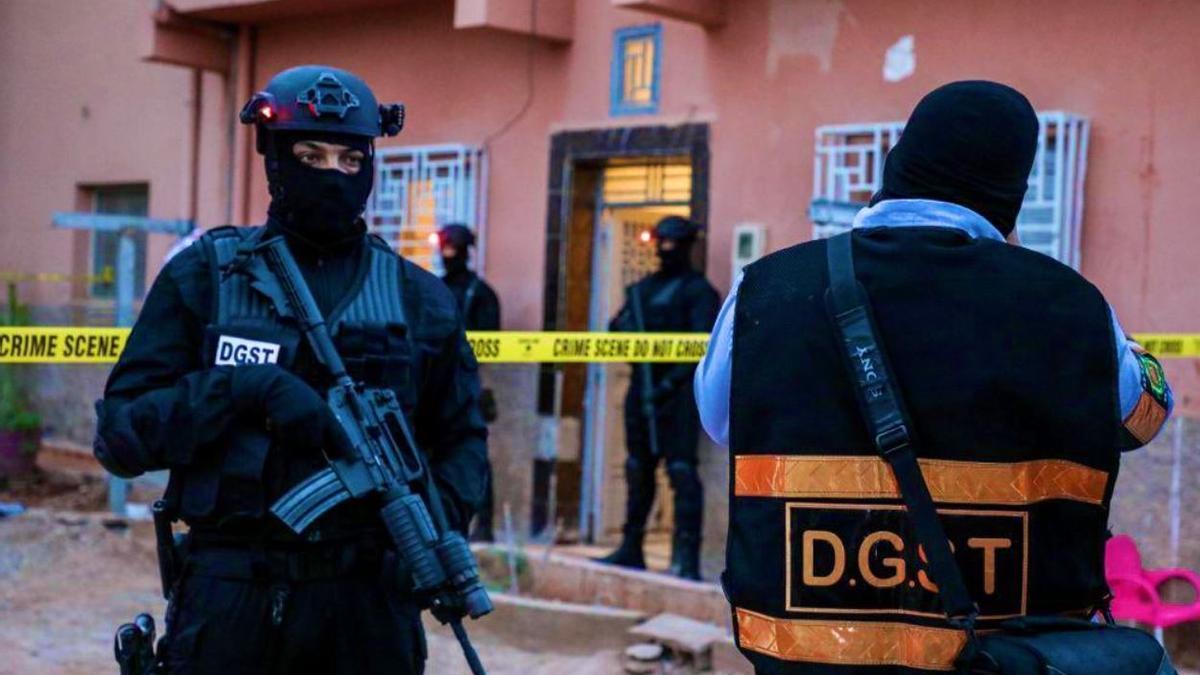 Cuerpos de élite desarticulan una célula terrorista en Marruecos.