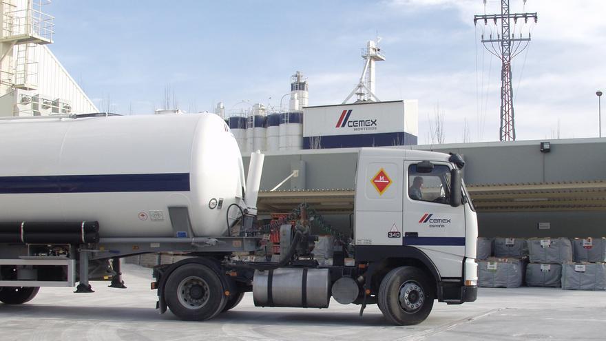 Cemex renueva su fábrica de mortero de San Vicente