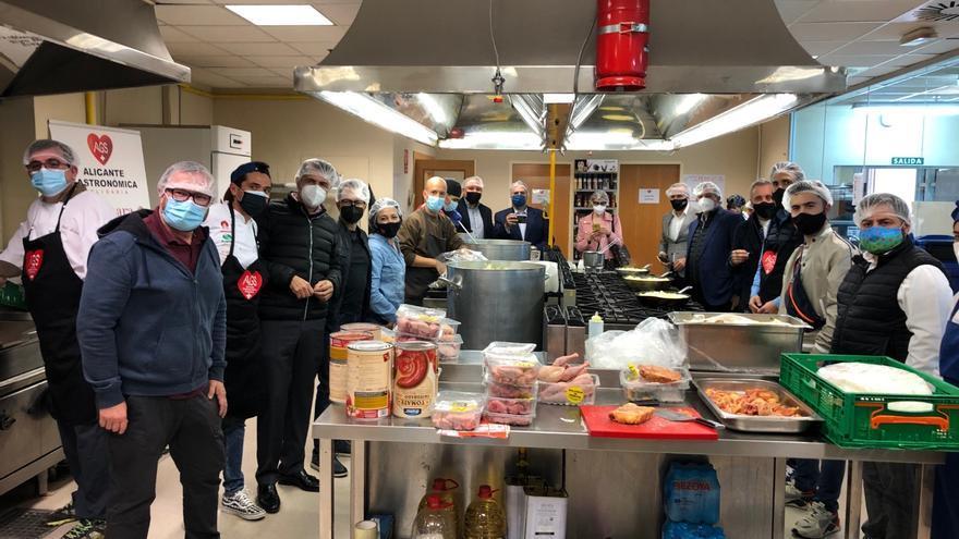 Alicante Gastronómica Solidaria cocina y distribuye más de 250.000 menús