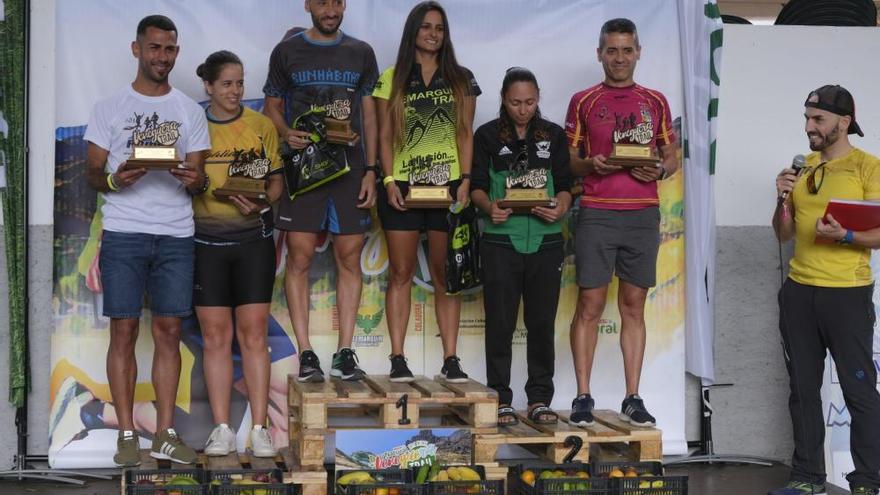 Rubén Crespo y Silvia León, vencedores en Mogán