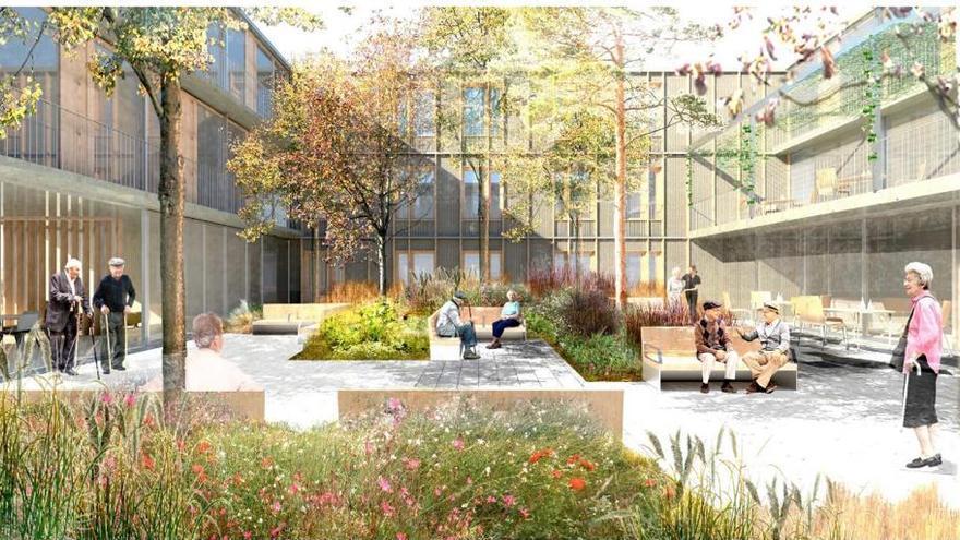 El Govern aprueba el proyecto ejecutivo para la futura residencia de Son Dureta para personas con dependencia