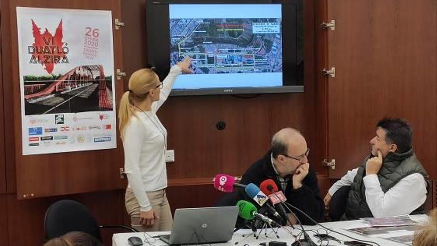 Alzira y Alberic preparan sus exigentes duatlones