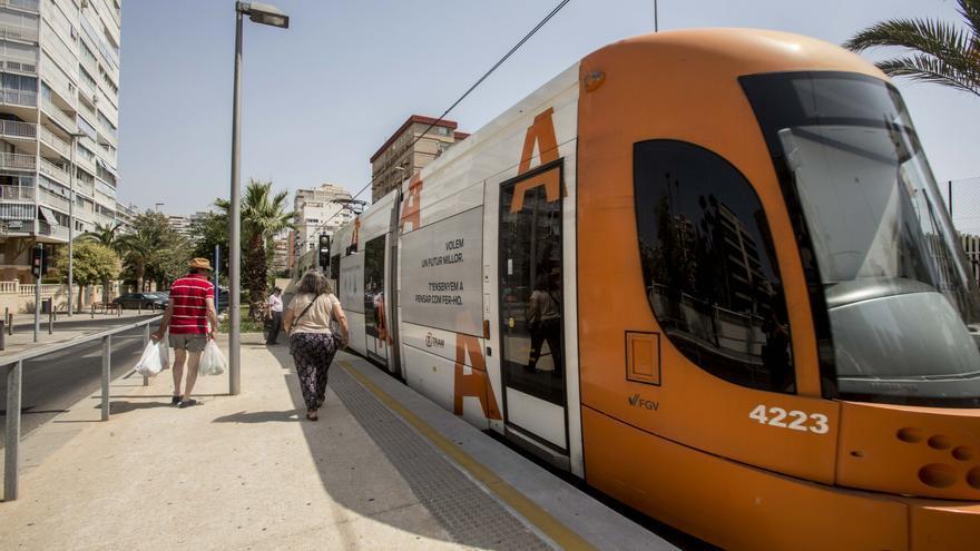 Vecinos de Sant Joan y Mutxamel reclaman que el TRAM llegue hasta ambos municipios