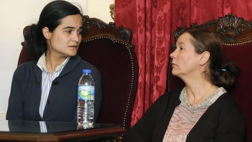 La Audiencia prorroga la prisión provisional de Monserrat y Triana hasta 2025 y 2024