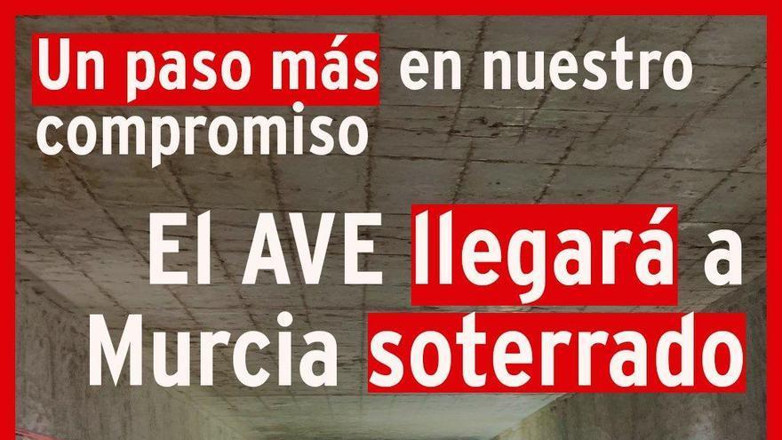 Conesa acusa al PP de mentir cuando dice que el AVE habría llegado en 2018