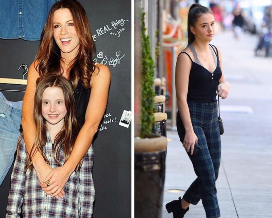 La hija de Kate Beckinsale y Michael Sheen.