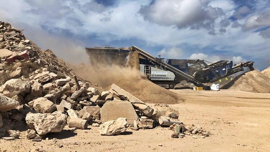 Luz verde a la planta de tratamiento de residuos de obra en Formentera