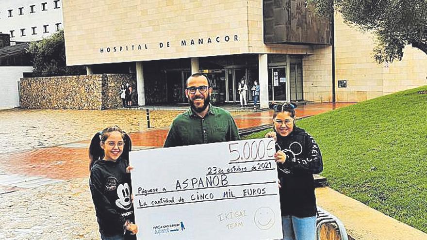 El doctor 'ultraman' de Porto Cristo recauda 5.000 euros en favor de Aspanob