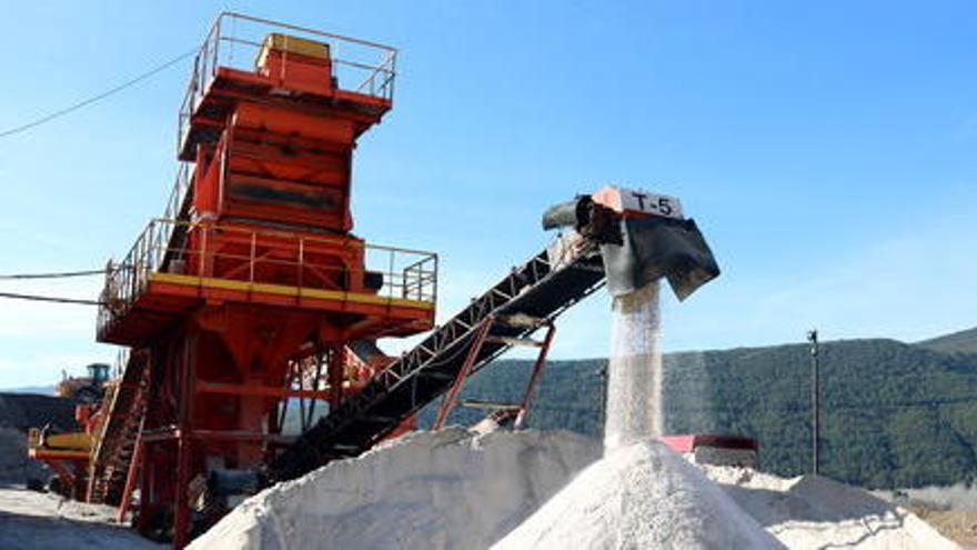 ICL preveu duplicar la producció de sal de desgel en dos anys gràcies a la nova rampa de Cabanasses