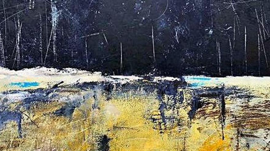 Pintura y escultura  de artistas de Balears en Can Jeroni