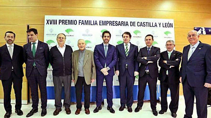 Mañueco reconoce la aportación de las empresas familiares al PIB regional