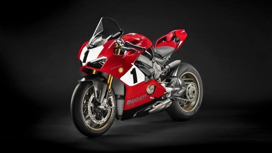 Así es la nueva Ducati Panigale V4 25º Anniversario 916 2020