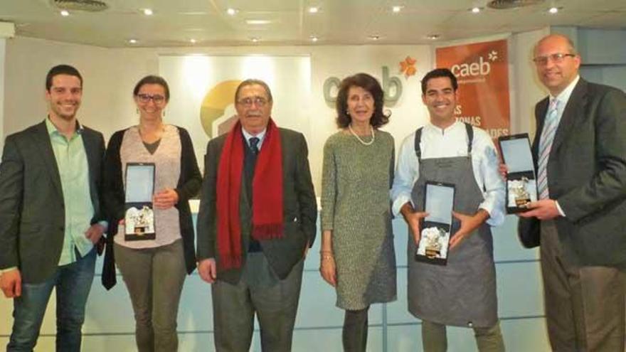 Premios para Amengual, Servaes y Genestra