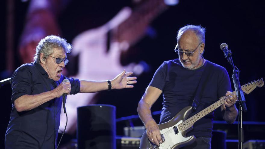 'The Who' sacuden el festival Rock in Río
