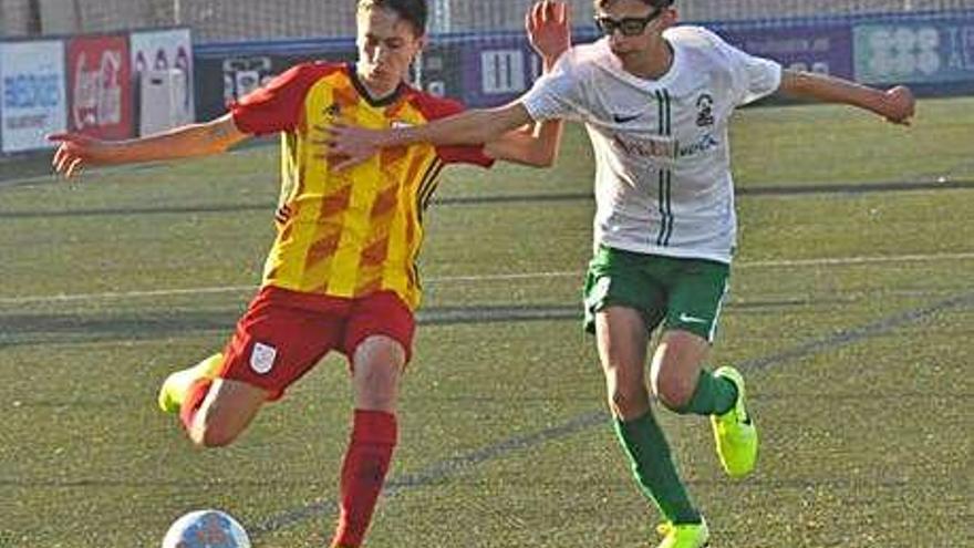 Velilles participa en una nova derrota de l'equip català sub-14 amb Andalusia