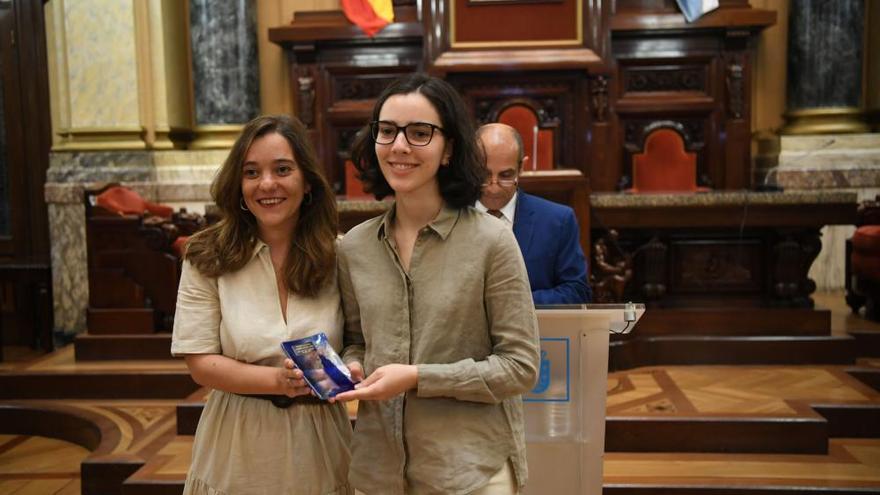 Los coruñeses con mejores notas en las pruebas ABAU, en María Pita
