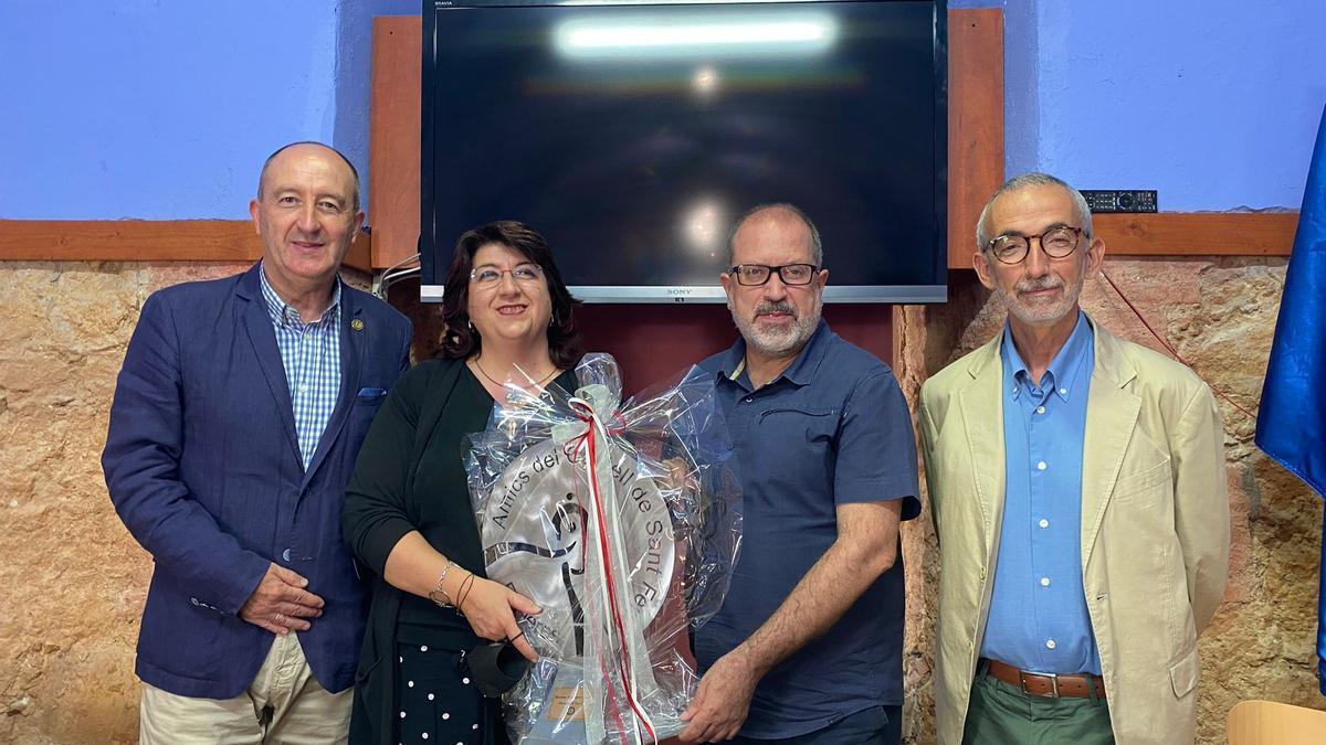 Mariona Seguranyes premiada pels Amics del Castell de Sant Ferran