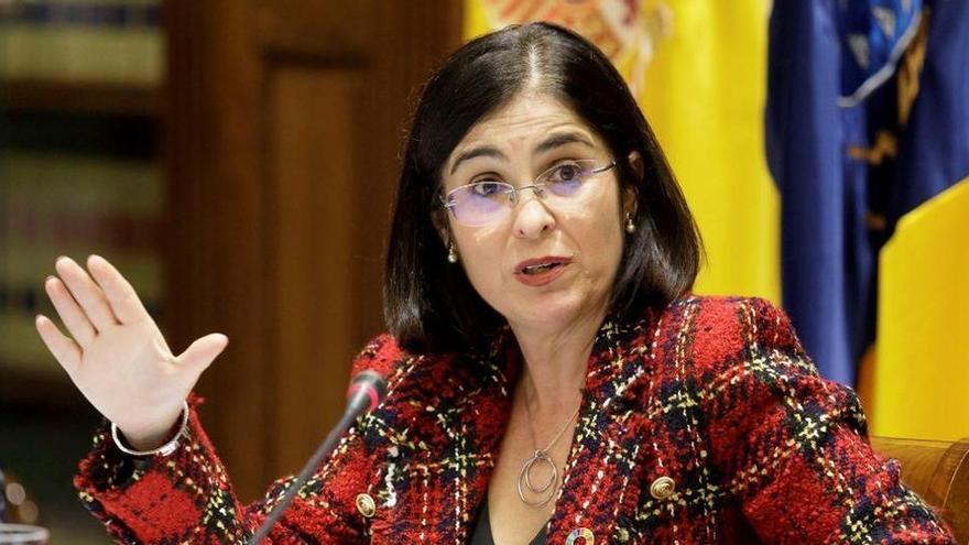 Carolina Darias, de primera presidenta de la Cámara regional a ministra