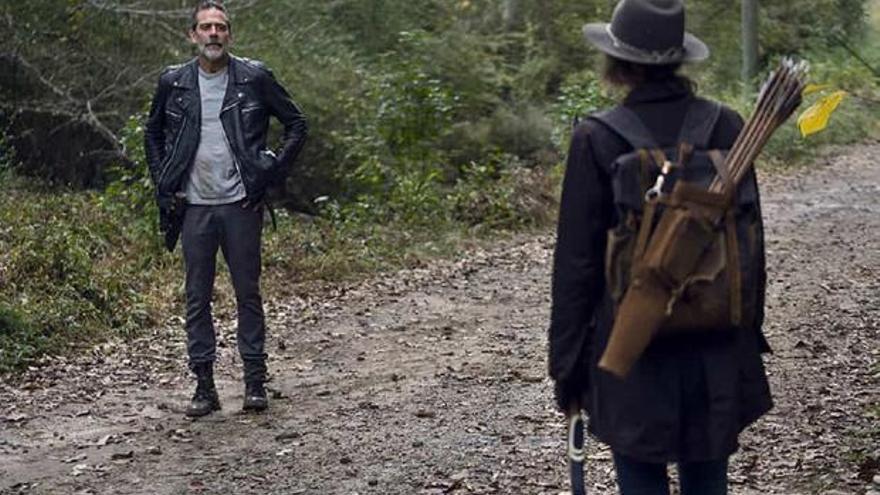 El reencuentro de Maggie y Negan, plato fuerte del regreso de The Walking Dead