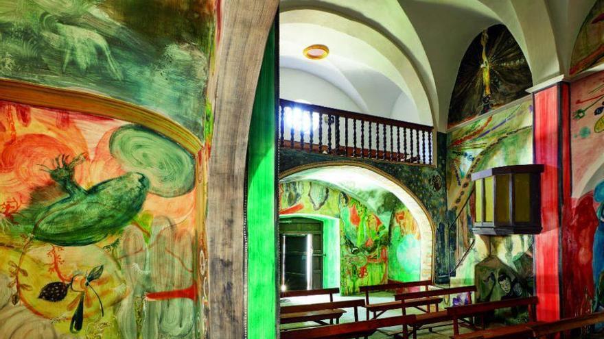Santi Moix: La ermita de las delicias