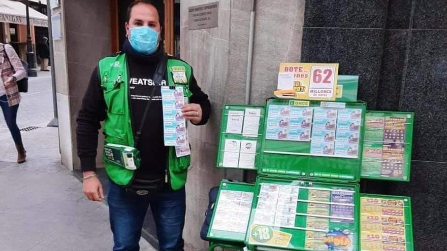 La ONCE reparte en Lucena 120.000 euros en seis cupones