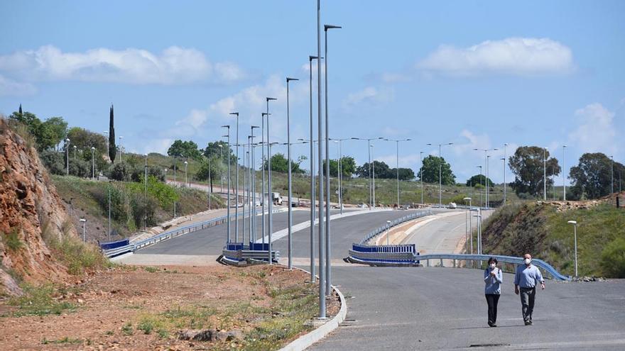 Las obras de la ronda Norte estarán acabadas en la primera semana de junio