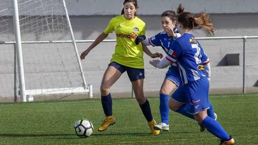 Quinta victoria consecutiva del Rosalía, que apunta a la mitad superior de la tabla
