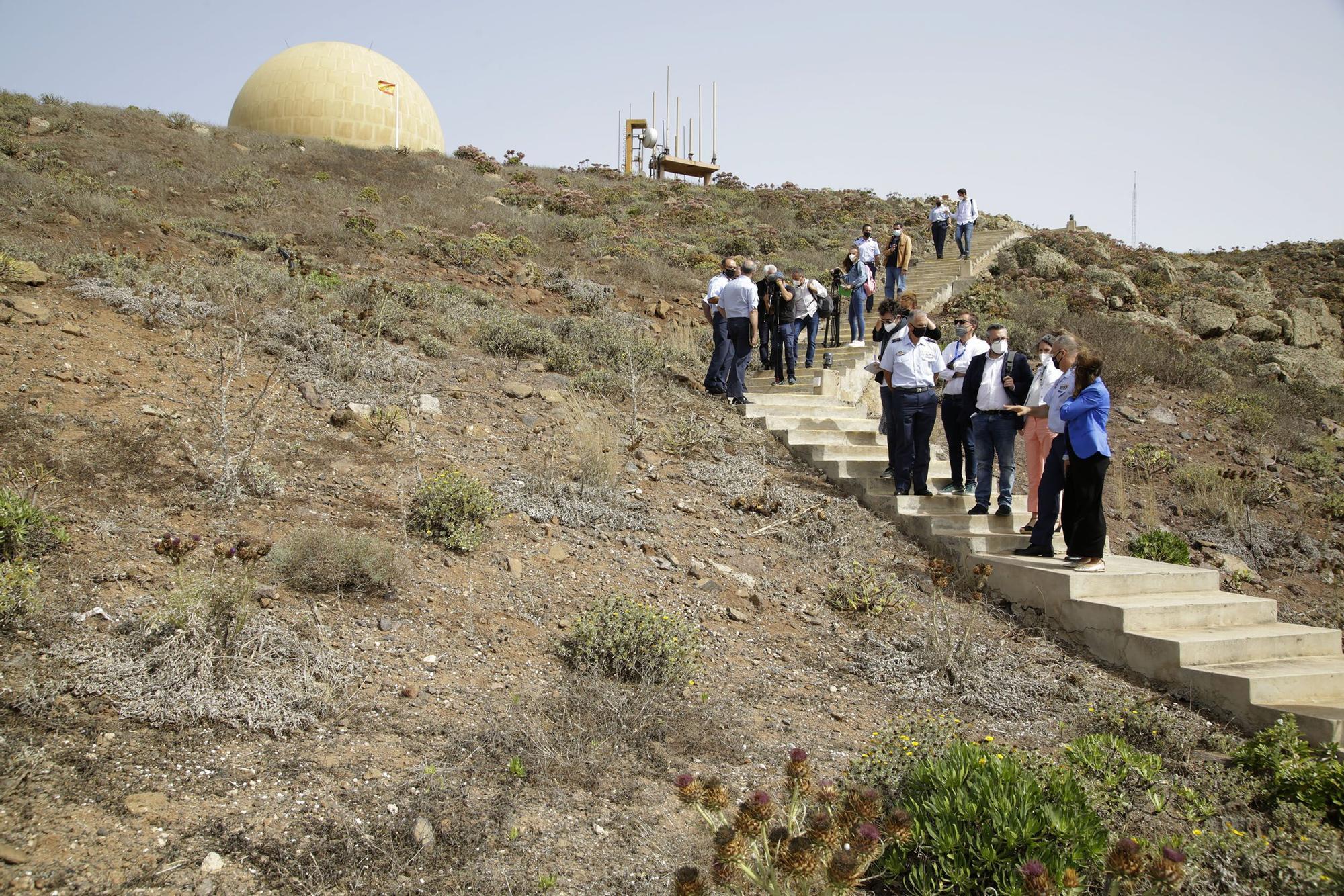 Convenio entre Gobierno canario y Defensa para ubicar un huerto de especies autóctonas en Famara