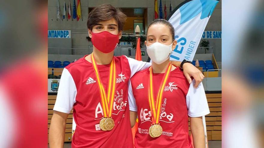 Carulla y Sanjurjo consiguen cuatro oros en el Nacional de Santander