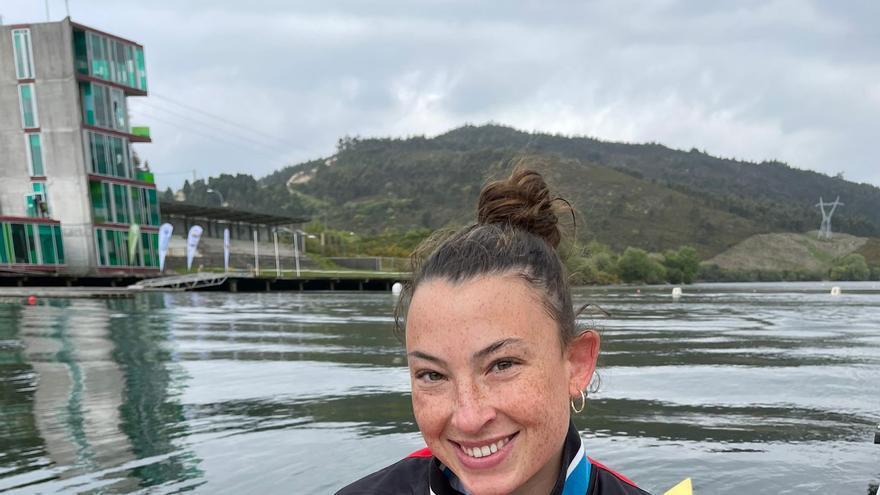 Piragüismo | Mirella Vázquez, tercera en el control K-1 200 metros para Tokio