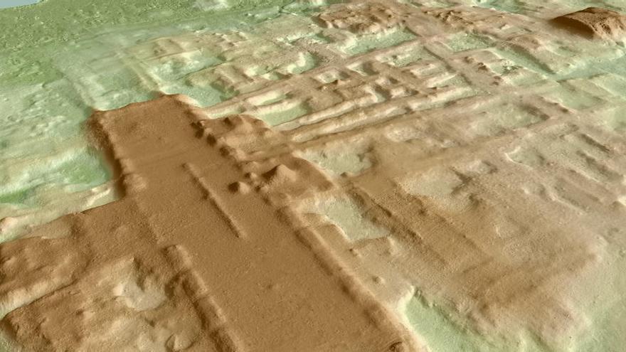 Hallan el monumento maya más antiguo y grande del mundo