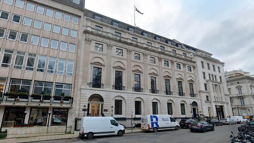 Pontegadea refuerza la cartera de Amancio Ortega en Londres al comprar un edificio en la céntrica Saint James