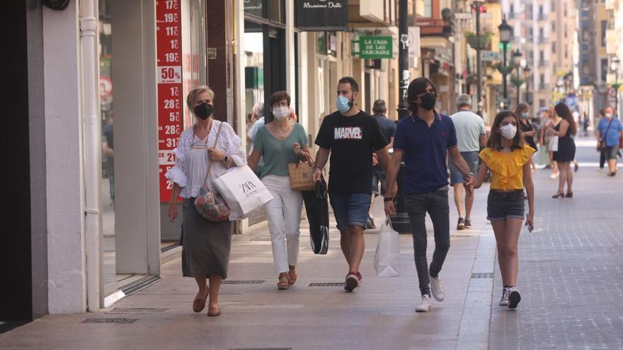 Prudencia en Castellón en el primer día sin mascarillas al aire libre