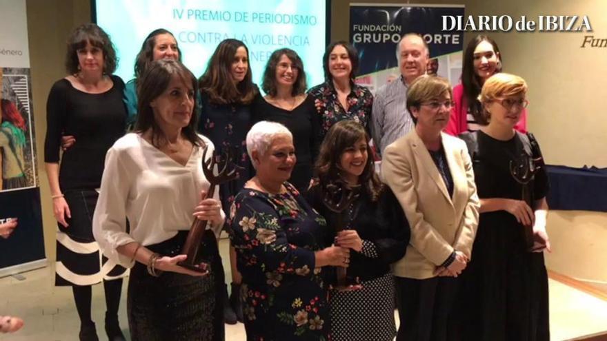Pilar Ruiz recoge el Premio de Periodismo contra la Violencia de Género