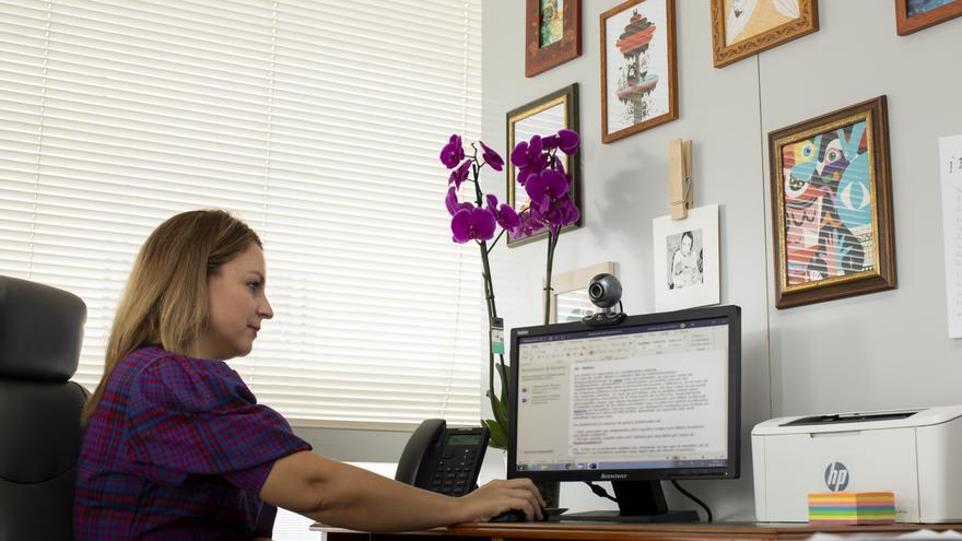 CANARIAS.-La consejera canaria de Derechos Sociales se encuentra aislada a la espera de conocer el resultado de una PCR