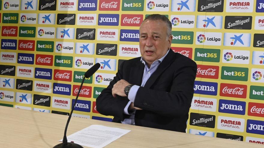 Rueda de prensa de Fernando Roig tras la clasificación del Villarreal para la final
