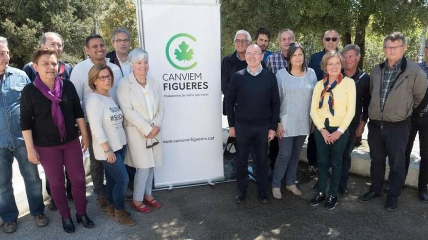 Canvien Figueres presenta la llista amb una arrosada solidària per al Dofí