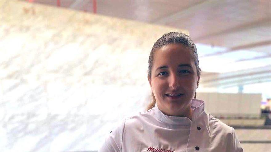 La fuentealamera María Gómez, segundo premio al mejor cocinero revelación