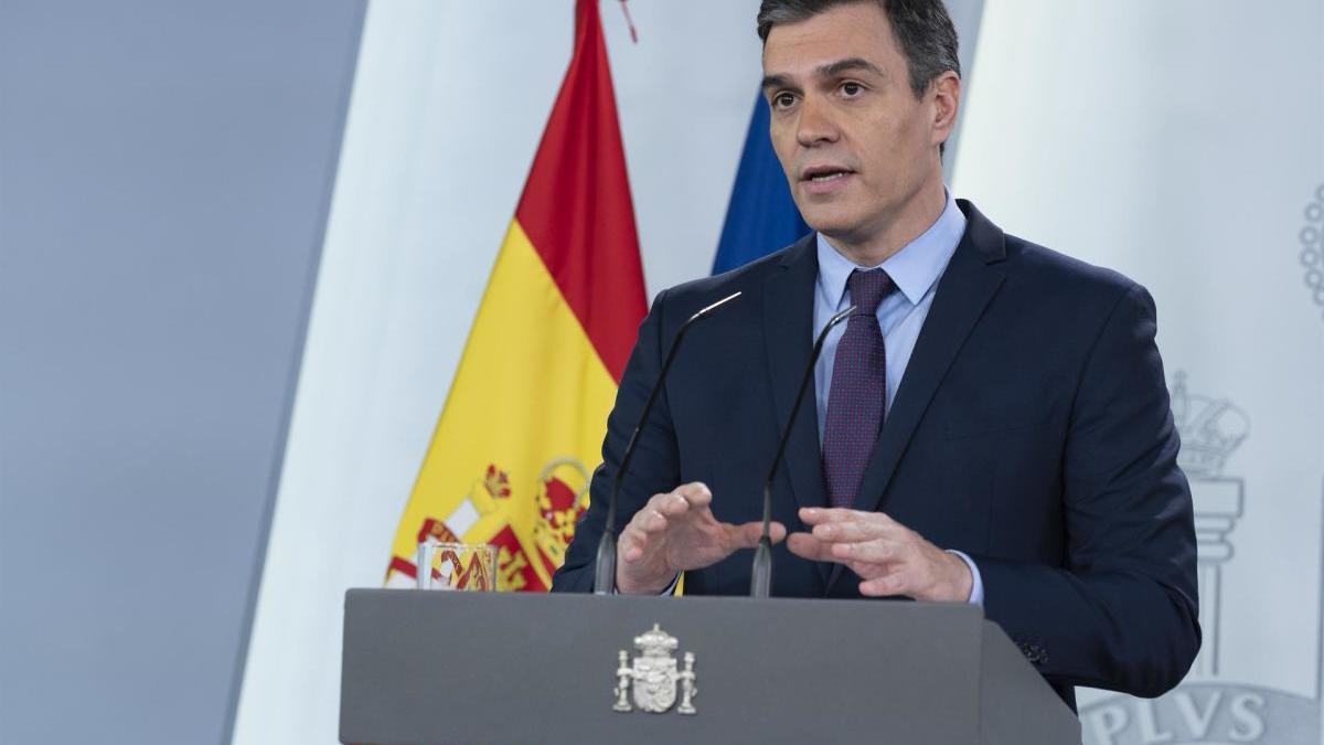 El president de Govern, Pedro Sánchez