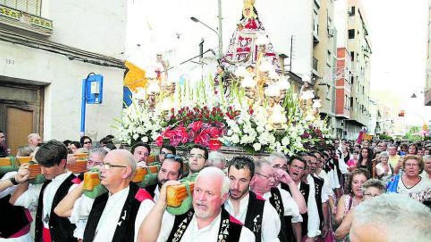 La Patrona no saldrá en procesión, pero sí tendrá su ofrenda floral